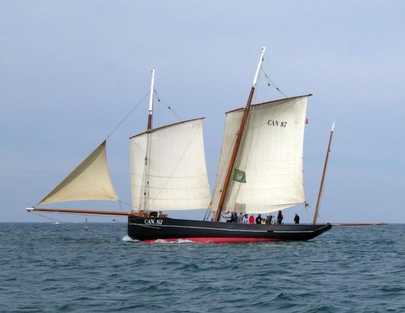 bateau pour symboliser le travail d'équipe